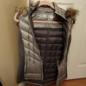 Down filled vest